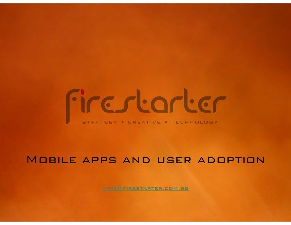 Mobile apps and adoption v2
