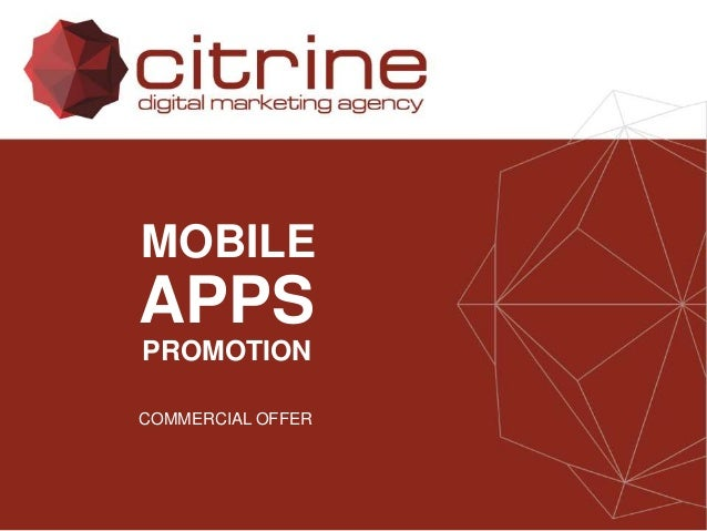 Mobile apps promotion