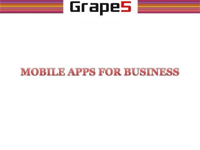 Mobile apps today are as important as websites are for business.