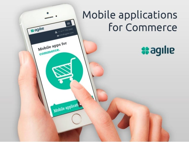 Mobile Ecommerce Application Ecommerce Mobile Application