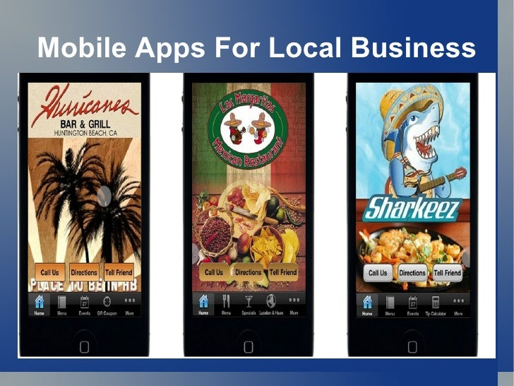 Mobile Apps For Local Business