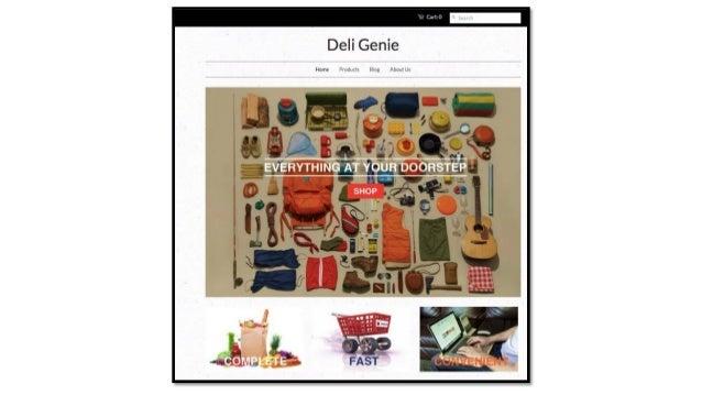 Mobile App_Start-Up_Deli Genie