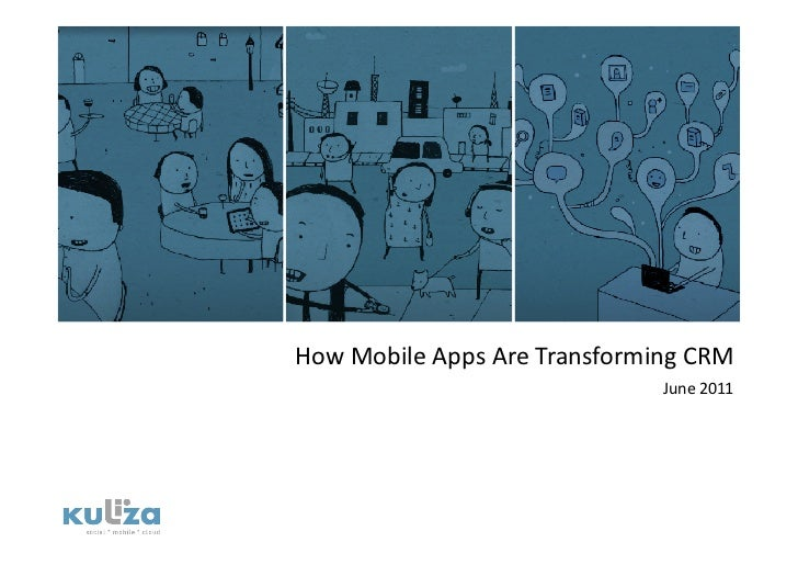 How mobile apps are transforming CRM