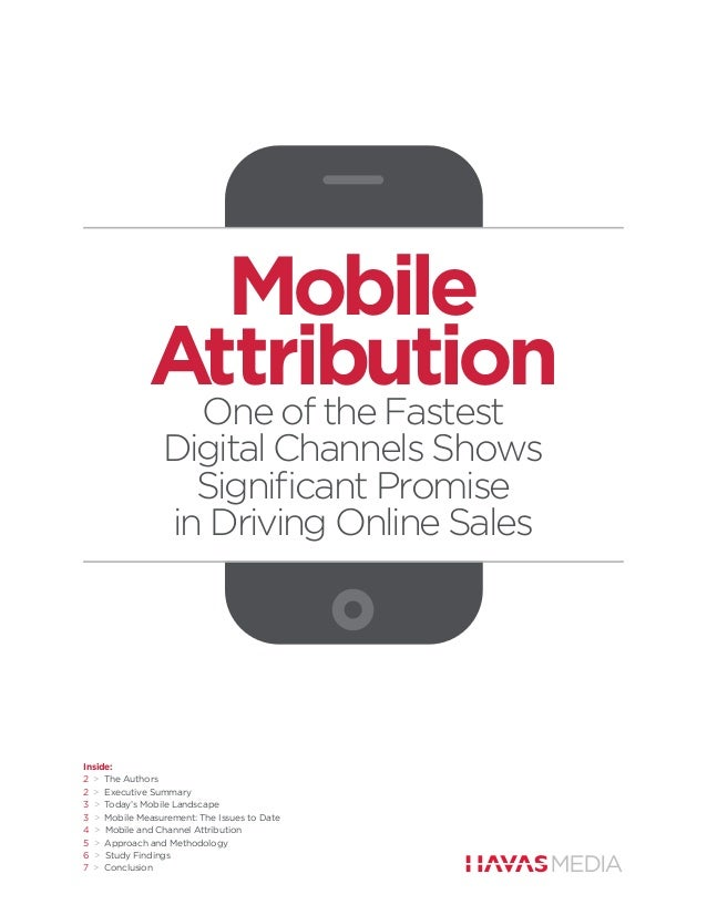 Mobile             Attribution              One of the Fastest                Digital Channels Shows                  Sign...