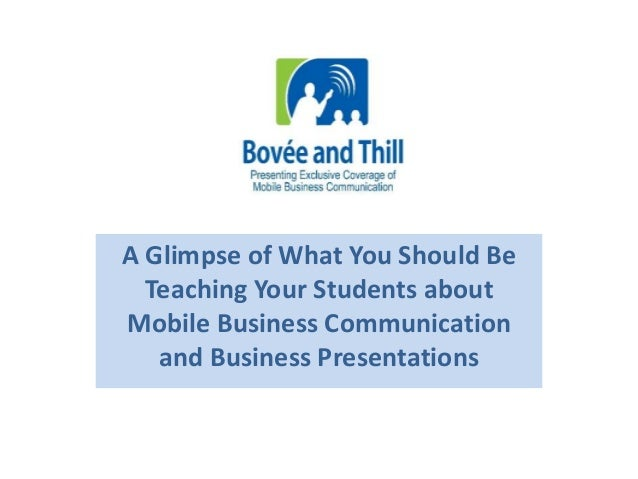 presentation business email communication