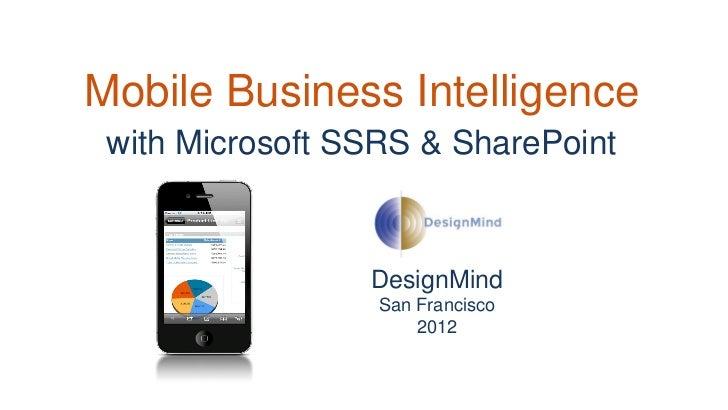 Mobile Business Intelligence Pdf