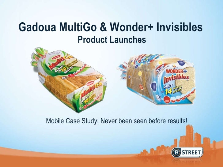 Gadoua MultiGo & Wonder+ Invisibles  Product Launches Mobile Case Study: Never been seen before results!