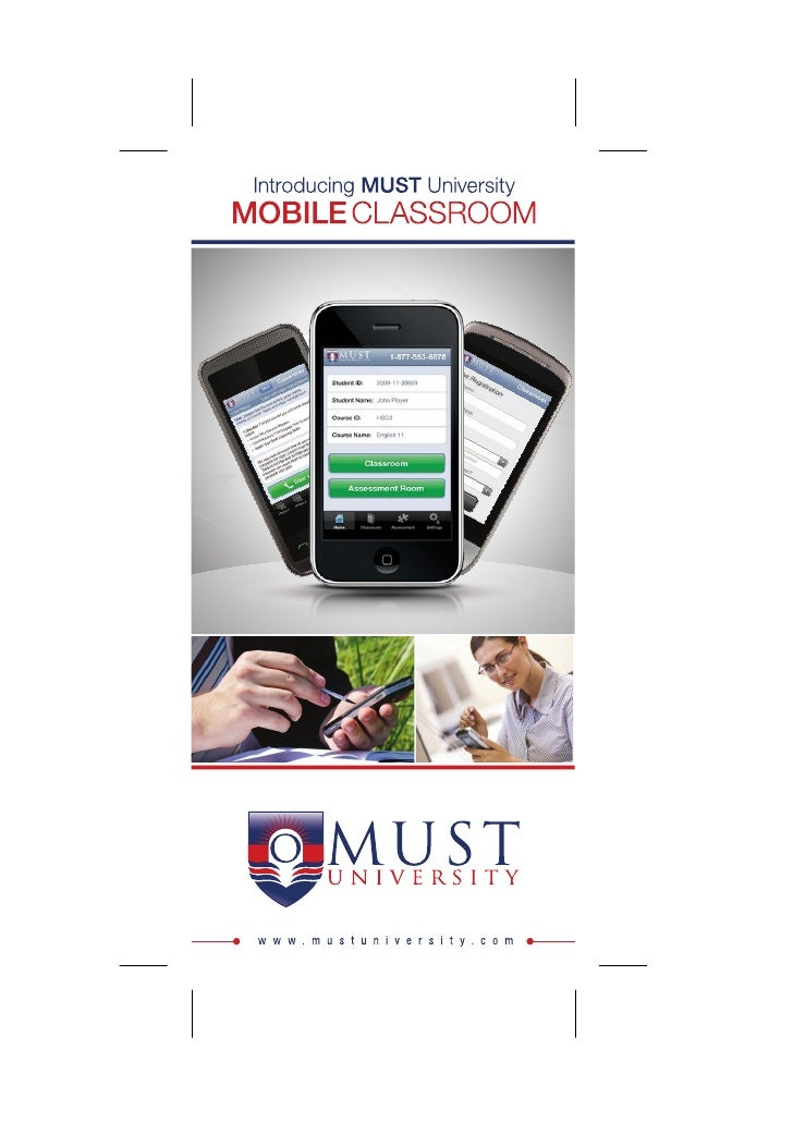 MUST University Mobile Classroom – Your Education On The Go!