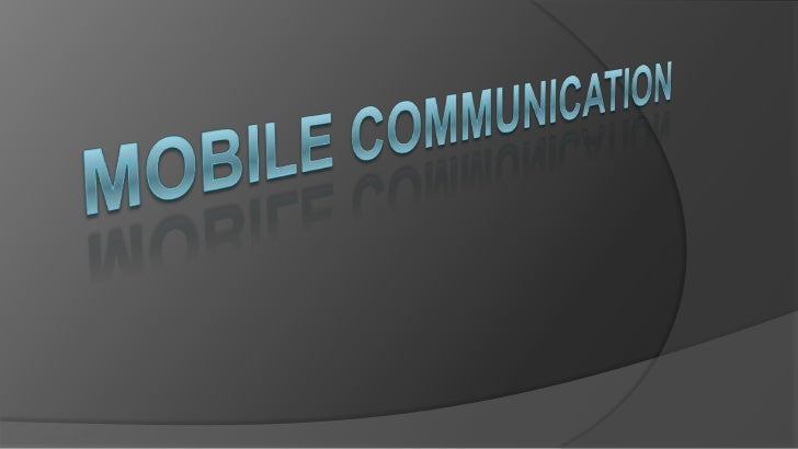 Wireless Communication is a medium totransfer information to different locationsseparated by distances or conditions which...