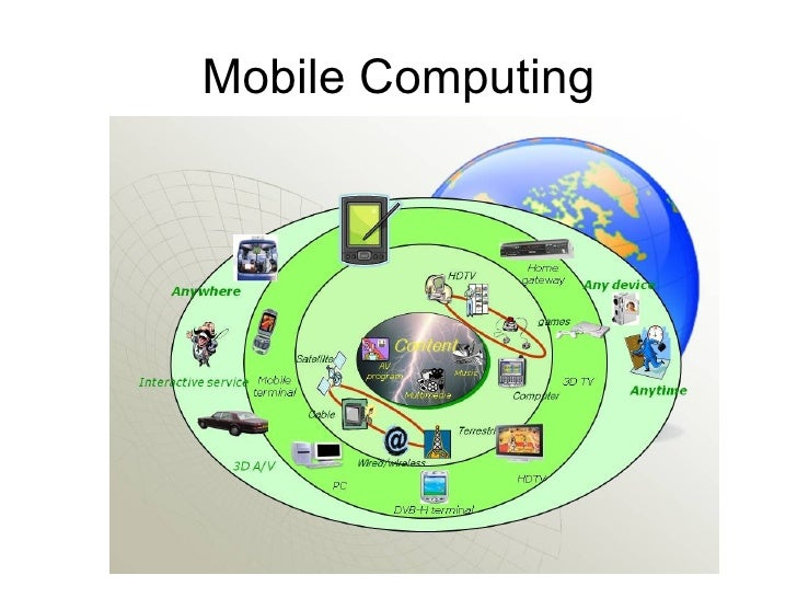 Mobile computing -- Introduction