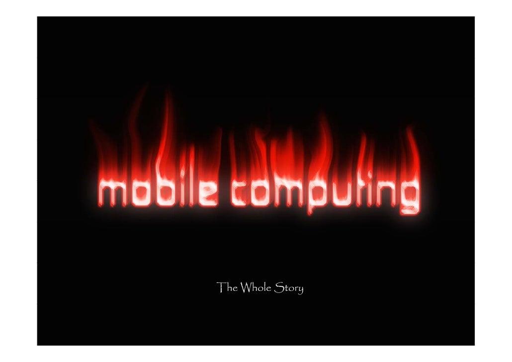 Mobile Computing Christoph Schaffer