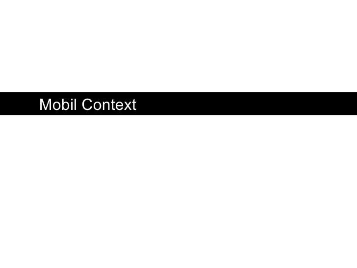 Mobile Context