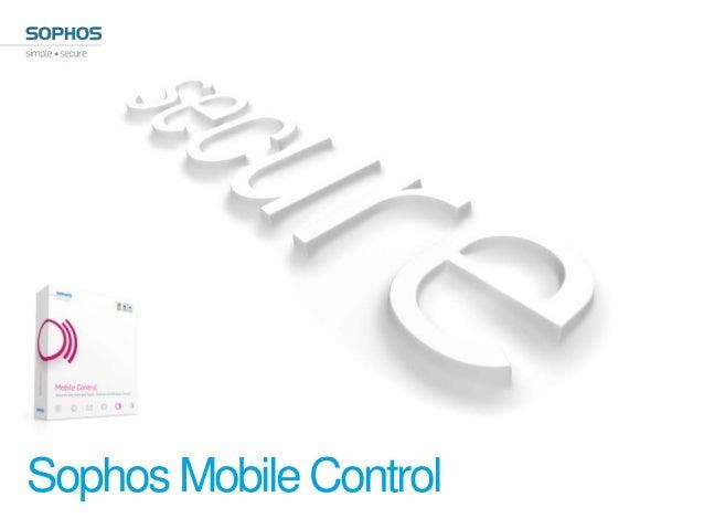 Sophos Mobile Control