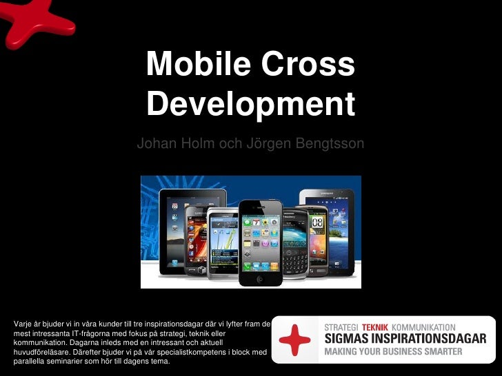 Mobile cross platform development