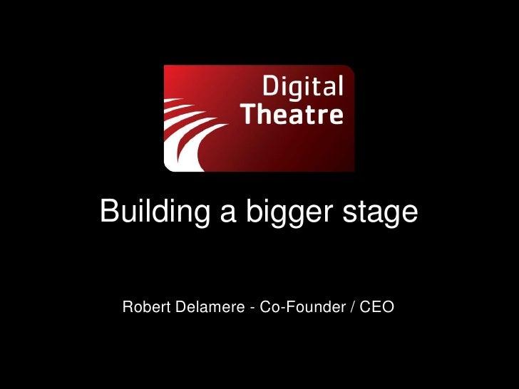 Mobile Culture - Digital Theatre
