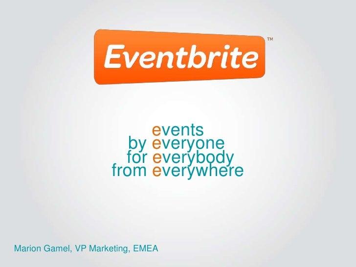 Mobile Culture - Eventbrite