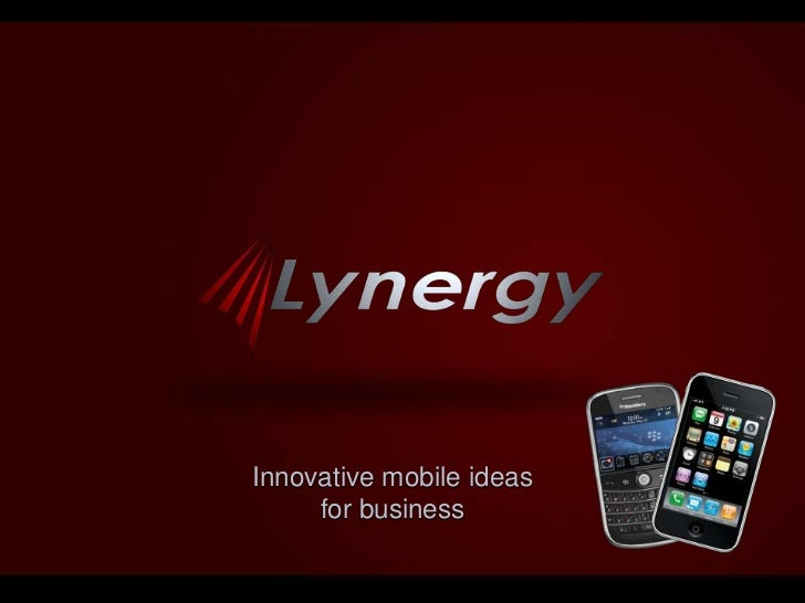 Innovative mobile ideas for business<br />