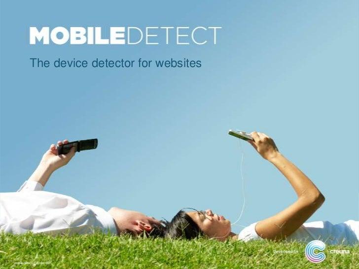 Creuna Mobile Detect