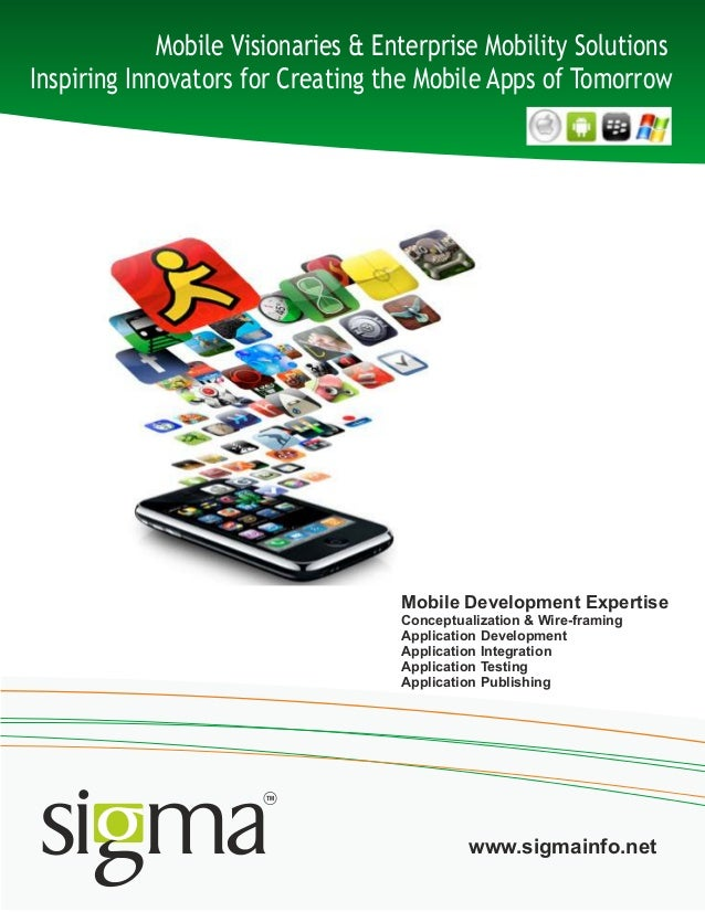 Mobile development capability doc