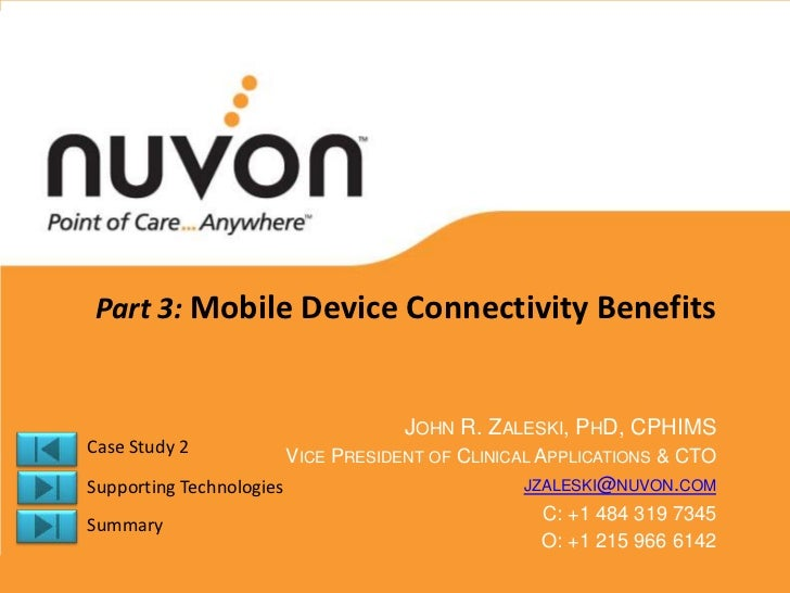 Mobile Device Connectivity