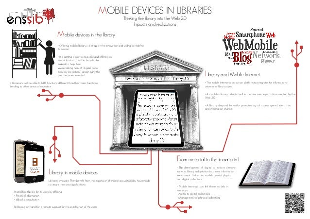 MOBILE DEVICES IN LIBRARIES Thinking the library into the Web 2.0 Impacts and realizations  Mobile devices in the library ...
