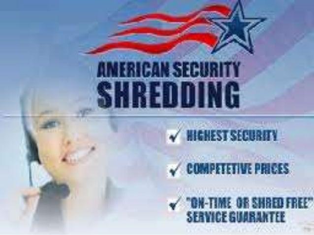 Mobile Document Shredding