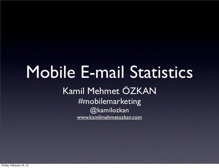Mobile e mailing