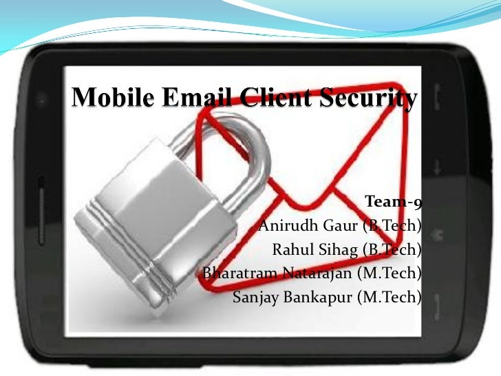 Mobile Email Security