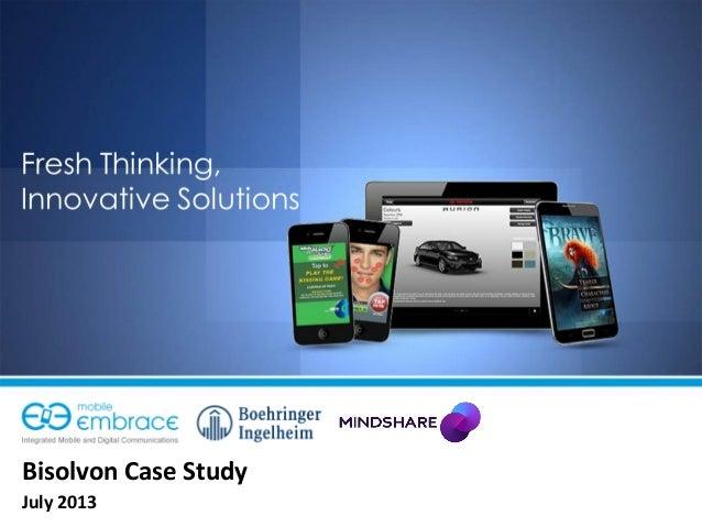 Bisolvon Case Study July 2013