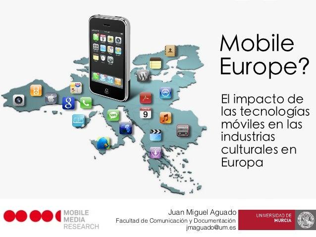 Mobile Europe 2012