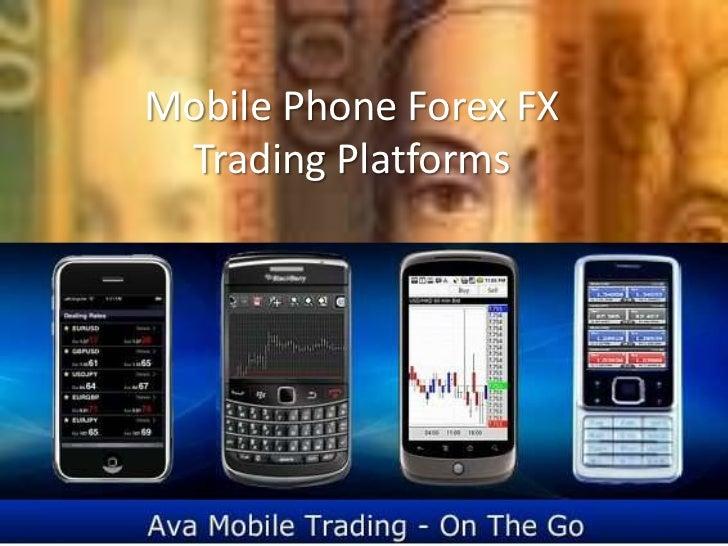 Mobile forex trade