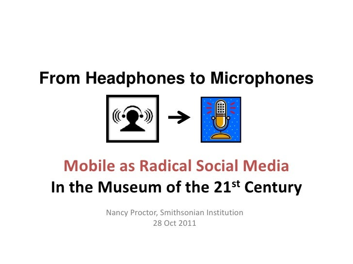 Mobile in Museum Studies (for NYU Abu Dhabi)