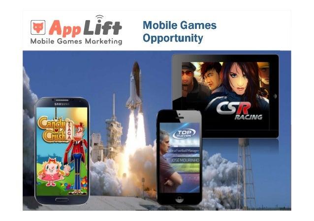 Mobile games opportunity app lift