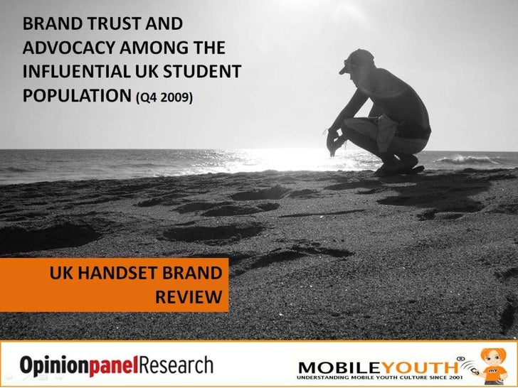 What Do Uk Students Think Of Mobile Handset Brands