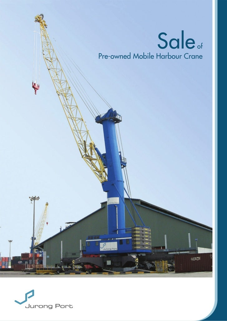Mobile Harbour Crane (brochure)