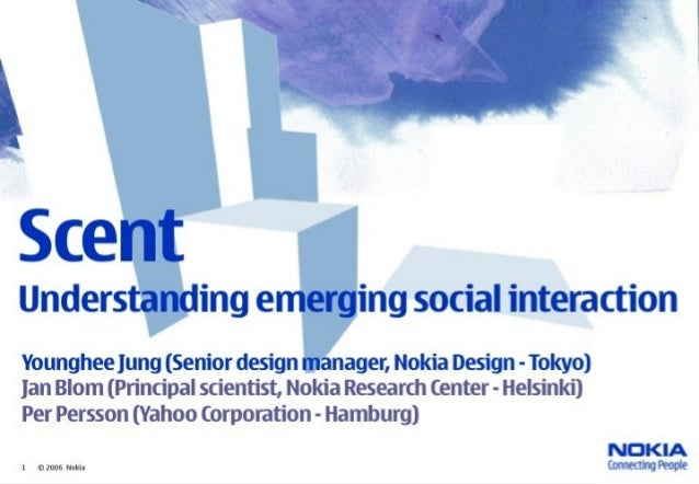 20 200© 6 Nokia Location Matters / 2006-08-09 6. Creating and exchanging social memorabilia