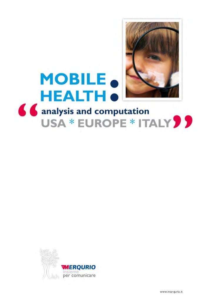 Mobile Health:  analysis and computation  Usa -Europe- Italy