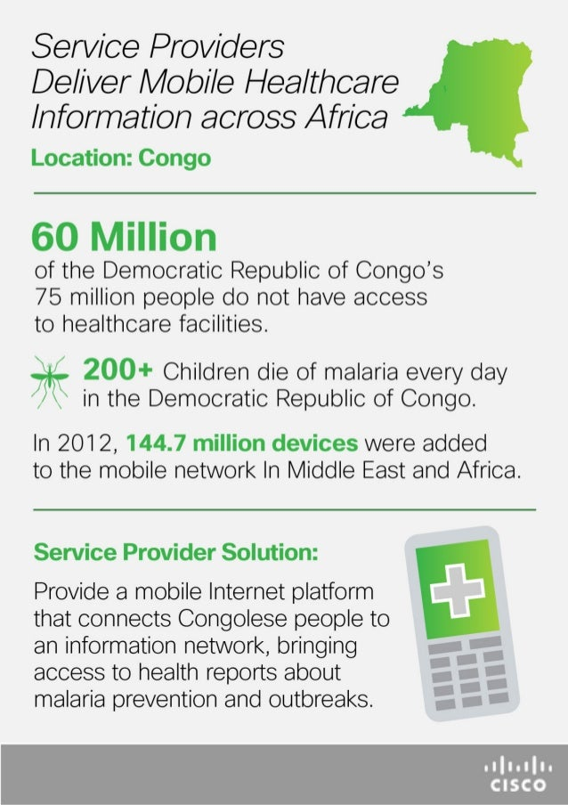 Delivering Mobile Healthcare (Congo) - Infographic