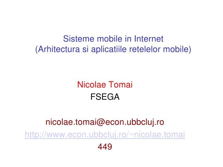 Mobileinternet tomai-romana-2010