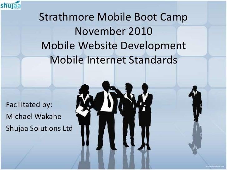 Mobile Internet Standards