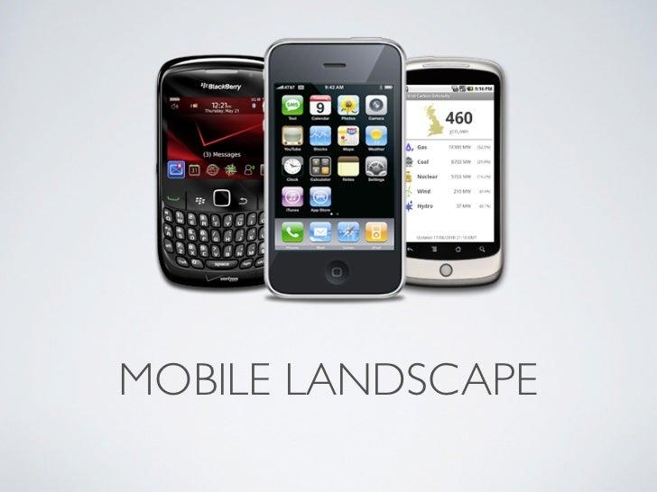 Mark Shufflebottom - Mobile landscape
