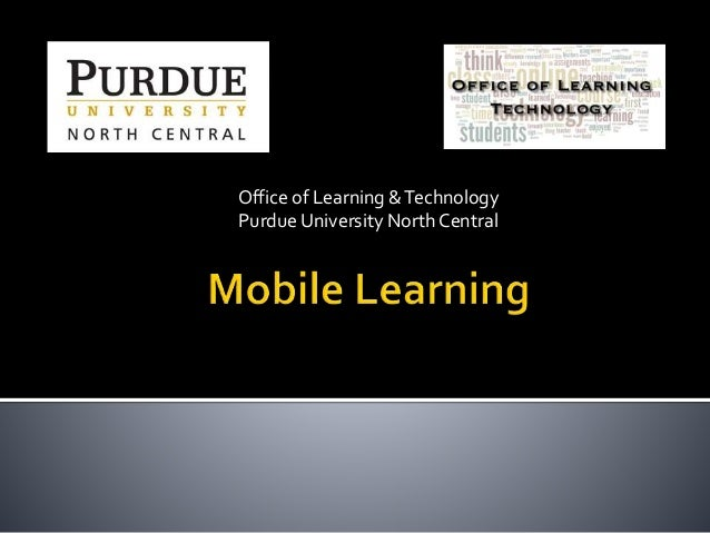 Mobile Learning and Teaching Tools