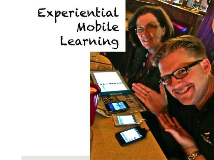 Mobile learning presentation for the 4t Virtual Conference 2012