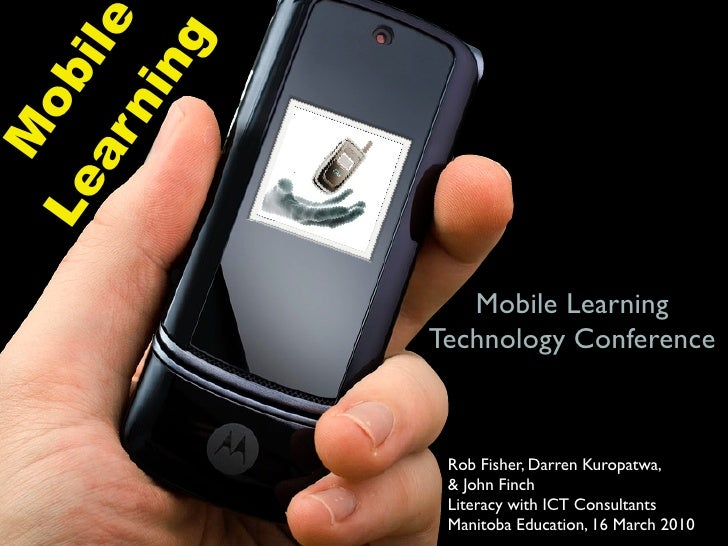 ile          ng       ob       ni M    ar Le                       Mobile Learning                 Technology Conference  ...