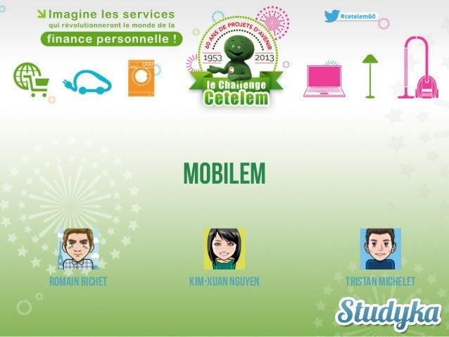 Mobilem - Studyka Challenge