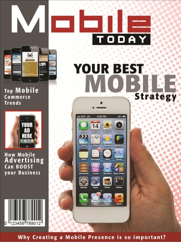 Your New Mobile MagazineWelcome to the internet magazine that is going to getstraight to the point about Mobile Marketing ...