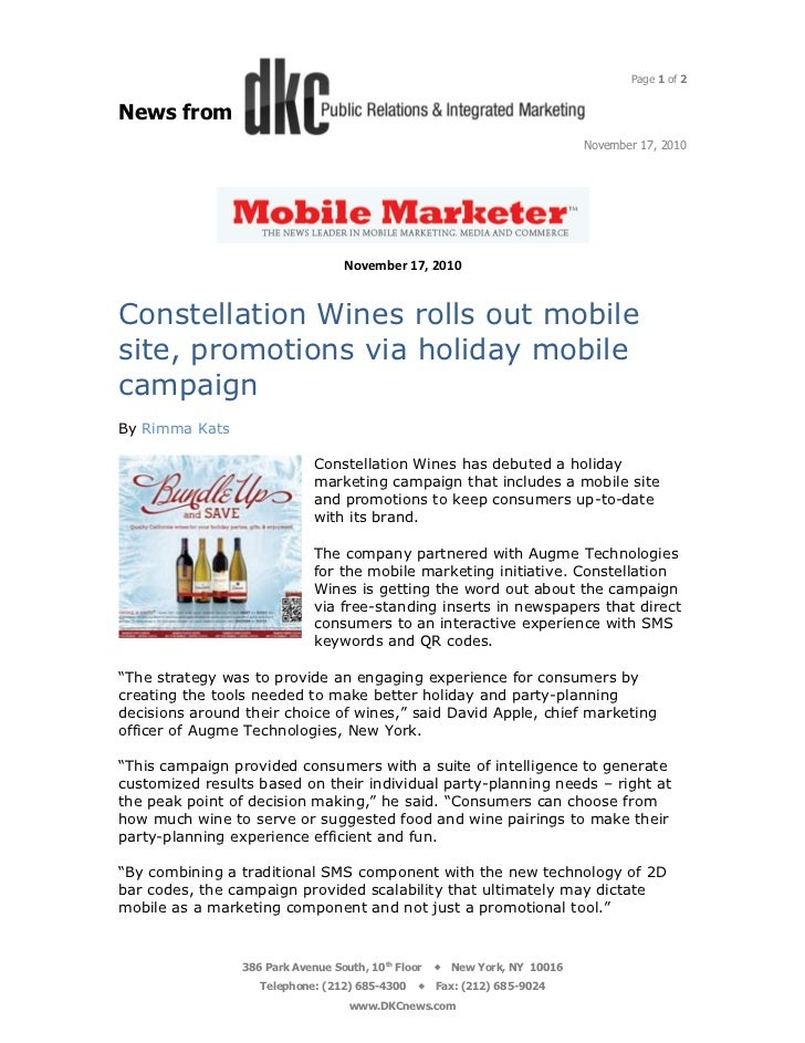 Mobile Marketer 11.17.10