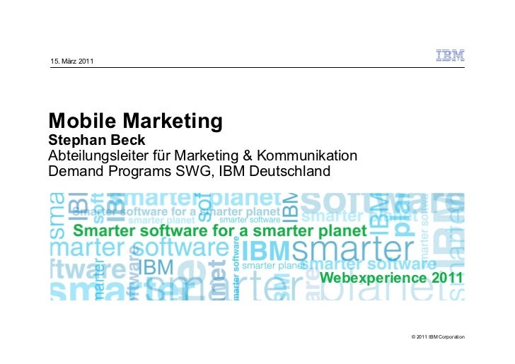 Mobile Marketing (deutsch)