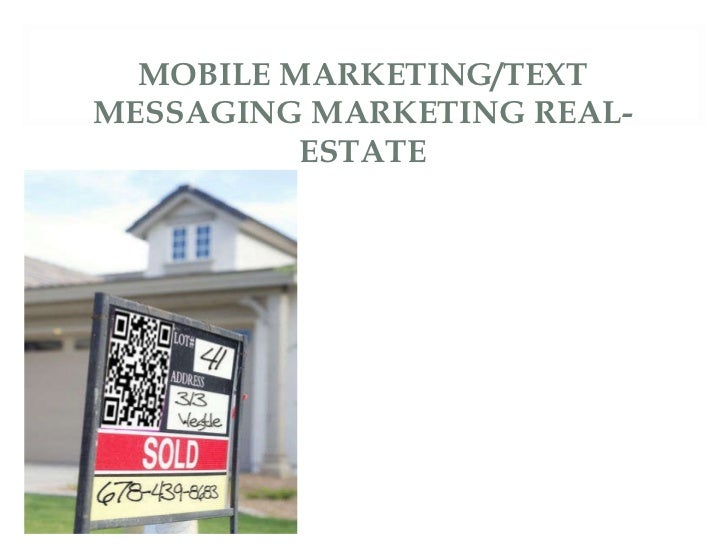 Mobile Marketing Stratgies For Real Estate