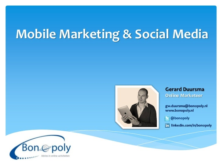 Mobile Marketing & Social Media